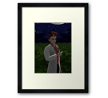 The Doctor Brown Framed Print