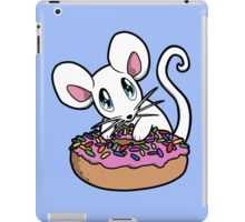 Mouse with a Donut iPad Case/Skin