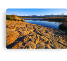 Provence lake landscape - 2 Canvas Print