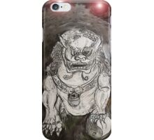 Foo Dog 4 iPhone Case/Skin