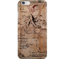 Thror's Map | Thorin Oakenshield's Map - Digital Artwork  iPhone Case/Skin