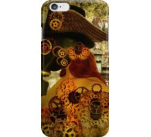 Clockwork suffocates under misinformation iPhone Case/Skin