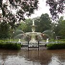 The Fountain In Forsyth Park by Arthur &quot;Butch&quot; Petty