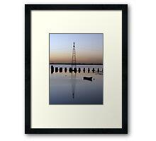 Sunset - 4 23-11-07 Framed Print