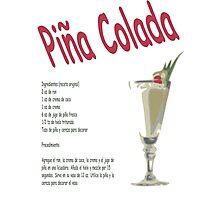 Pina Colada Photographic Print
