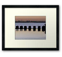 Sunset - 5 23-11-07 Framed Print