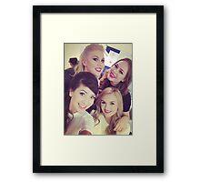 Louise, Zoe, Niomi, Tanya Framed Print