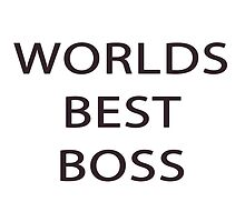 Worlds Best Boss - Michael Scott by heyitsbreex