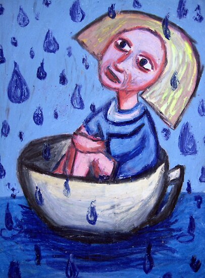 Storm In A Tea Cup by kimbaross