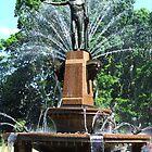 Hyde Park Fountain by Jaroadie