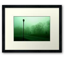 A Morning Walk Framed Print