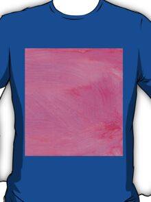 Pink Painted Background 2 T-Shirt