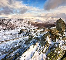 Winters Day In The Easdale Valley by Gary Kenyon