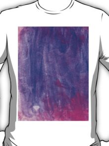 Pink and Violet Painted Texture T-Shirt