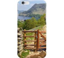 View Of Ullswater iPhone Case/Skin