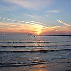 Lake Michigan Sunset by claidissa