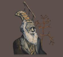 Darwin Took Steps by Glendon Mellow T-Shirt