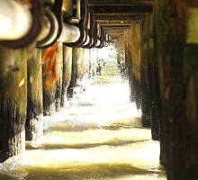 Under the pier # 1 by Lukas Carruthers