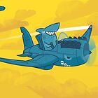 Shark Outta' Water by Demmy