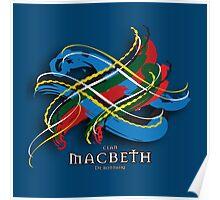 Macbeth Tartan Twist Poster