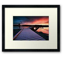 The Morning Walk Framed Print