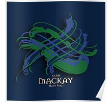 MacKay Tartan Twist Poster