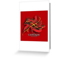 Cameron Tartan Twist Greeting Card