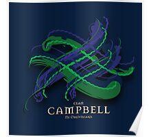 Campbell Tartan Twist Poster