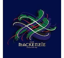 MacKenzie Tartan Twist Photographic Print