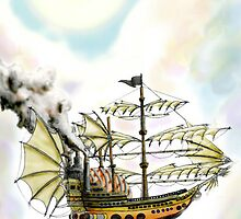 Pirate Ship by Mer Nolan