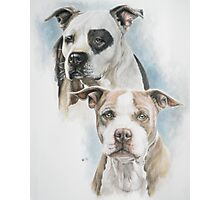 Sparkle and Buster Photographic Print