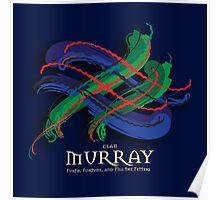 Murray Tartan Twist Poster
