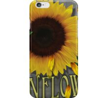 Sunflowers Rain and Shine  iPhone Case/Skin