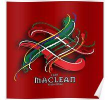 MacLean Tartan Twist Poster