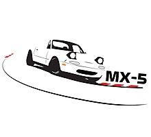 Mazda Miata (MX-5)  Photographic Print