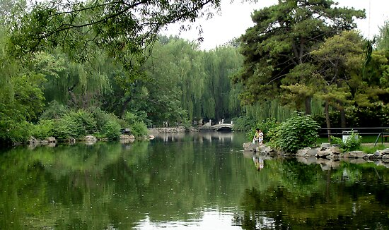 Garden in Beijing by nickwisner