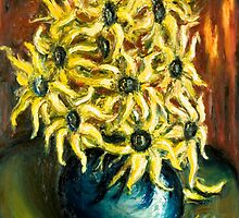 In a life I found her again (sunflowers no.2) by tank