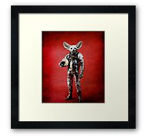 Space is calling Framed Print