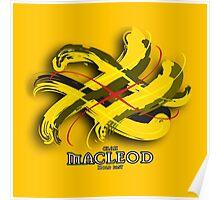 MacLeod Tartan Twist Poster
