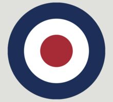 Bulls eye, Red, White, Blue, Roundel, Target, Airplane, Aircraft by TOM HILL - Designer