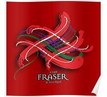 Fraser Tartan Twist Poster