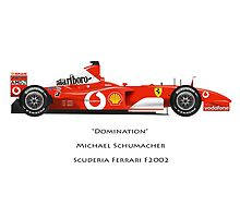 Michael Schumacher - Domination - Ferrari F2002 by JageOwen