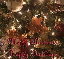 Season's Greetings Card by Melanie Wells