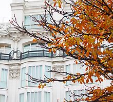 autumn in madrid. plaza santana by terezadelpilar~ art & architecture