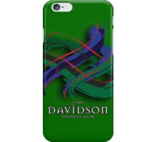 Davidson Tartan Twist iPhone Case/Skin