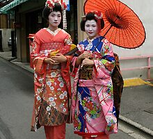 Geisha in Kyoto by jess116