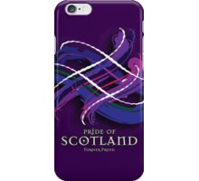 Pride of Scotland Tartan Twist iPhone Case/Skin