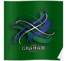 Graham Tartan Twist Poster