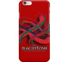 MacIntosh Tartan Twist iPhone Case/Skin