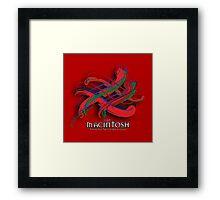 MacIntosh Tartan Twist Framed Print